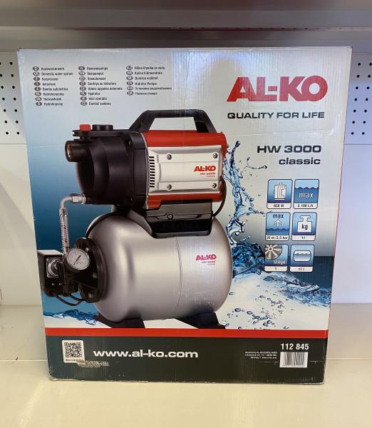 AL-KO HW 3000 Classic Hauswasserwerk. 650W, 3100l/h 112845