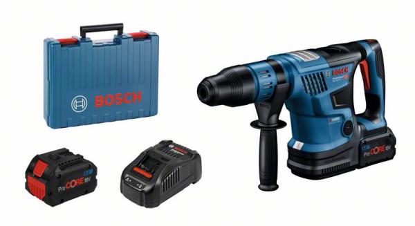 Bosch Professional Akku-Bohrhammer Biturbo mit SDS max (0611915002)