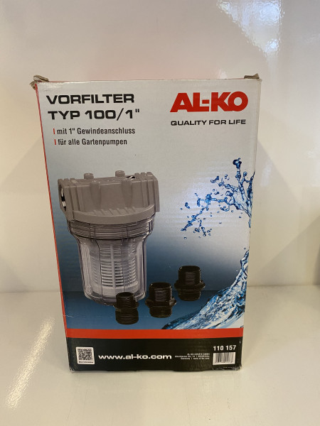 AL-KO Vorfilter AL-KO 100/1 Zoll für Gartenpumpen 110157