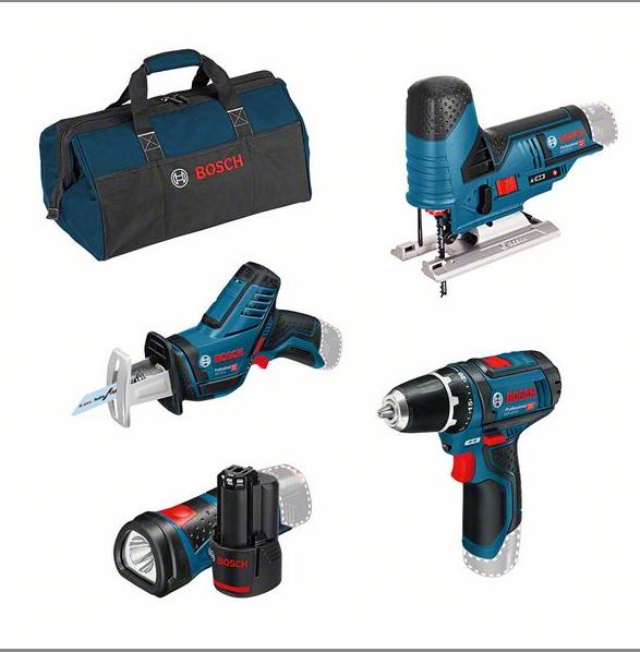 Bosch 4er-Werkzeug-Set 12V (0615990M06)
