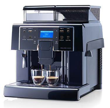 Saeco Kaffeevollautomat Aulika EVO Black (10000045)