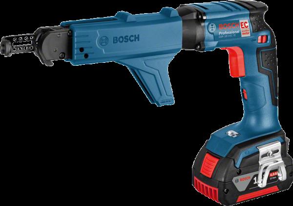 Bosch GSR 18 V-EC TE Professional Akku-Trockenbauschrauber + MA55 (06019C8006)