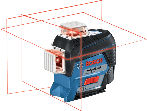 Bosch Professional Linienlaser GLL 3-80 C (0601063R05)