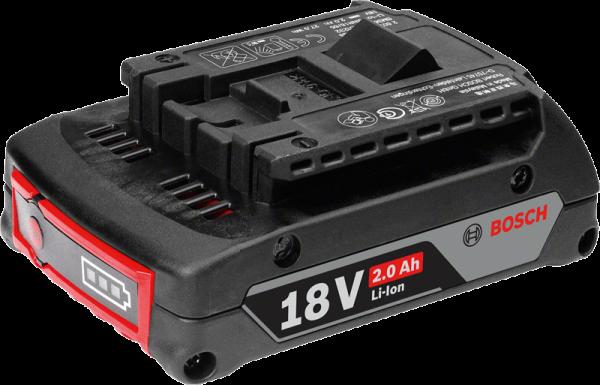 Bosch Professional Lithium-Ionen-Akku GBA 18V 2,0 Ah M-B 1600Z00036