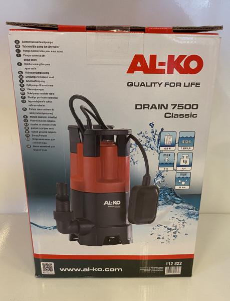 AL-KO Schmutzwassertauchpumpe AL-KO Drain 7500 Classic 112822
