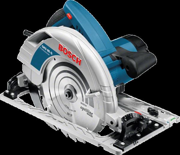 Bosch GKS 85 G Handkreissäge inkl. FSN1600 Führungsschiene (060157A902)