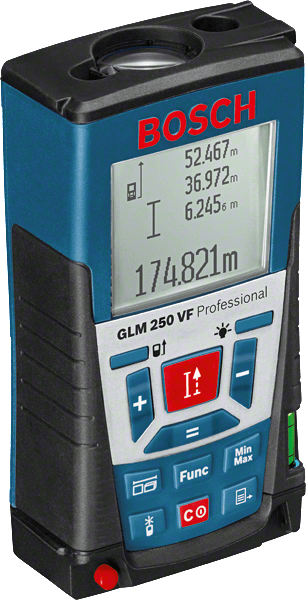 Bosch GLM 250 VF Laser-Entfernungsmesser (0601072100)