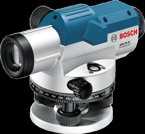 Bosch GOL 26 G Optisches Nivelliergerät (0 615 994 00C) + BT160 + GR500 Set