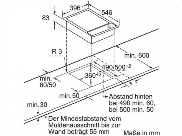 Neff Einbau-Elektro-Grill Domino NK 5440N (N54K40N0)