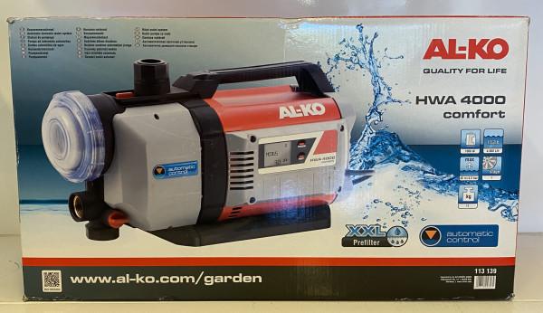 AL-KO Hauswasserautomat AL-KO HWA 4000 Comfort 113139