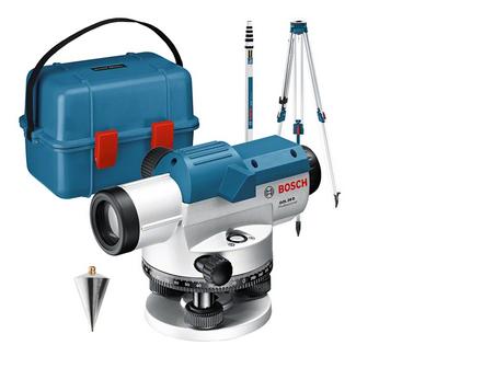 Bosch Professinal GOL 26 D Optisches Nivelliergerät (061599400E)