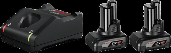 Bosch Starter-Set 2 x GBA 12V 6.0Ah + GAL 12V-40 Professional (1600A01B20)