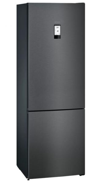 Siemens KG49NAXDP freistehende Kühl-Gefrierkombination, blackSteel