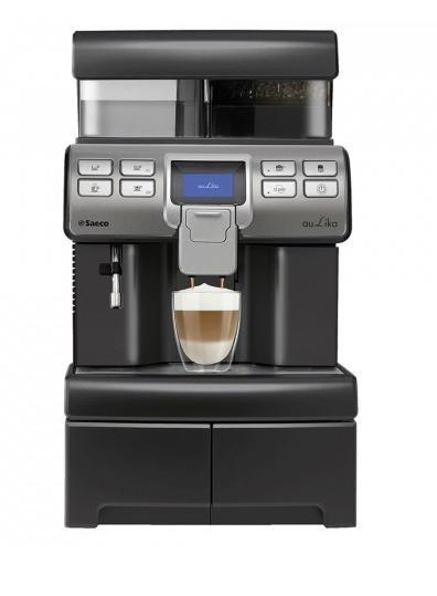 Saeco Kaffeevollautomat Aulika Top HSC V2 Black (10005247) +Base
