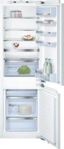 KIN86AD30 Einbau-Kühl-/Gefrier-Kombination, NoFrost - nie wieder abtauen ! Flachscharnier, mit Softe