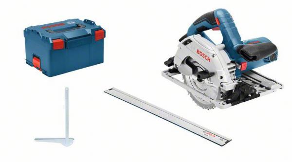 Bosch Professional GKS 55 GCE Handkreissäge inkl. L-Boxx (0601682103)