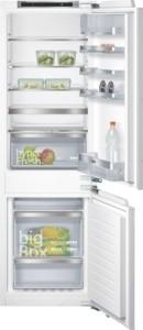KI86NAD30, Flachscharnier-Technik coolEfficiency Einbau-Kühl-Gefrier-Kombination Flachscharnier-Tech