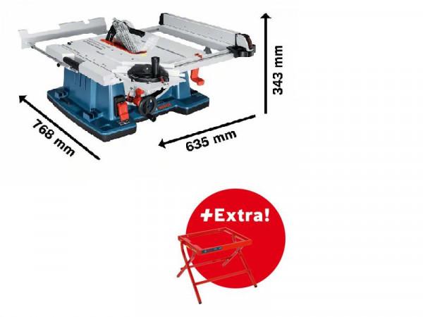 Bosch GTS10XC (0615990EM9) Tischkreissäge inkl. Arbeitstisch GTA6000