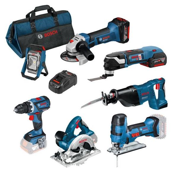 Bosch Professional Set + Werkzeugtasche (0615990K1D)