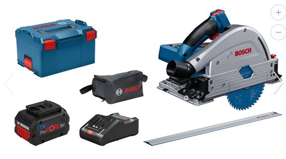 Bosch Professional Akku-Tauchsäge BITURBO GKT 18V-52GC set (0615990L55)